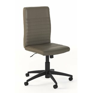 Edgerton Mid Back Ribbed Task Chair by Greyleigh New