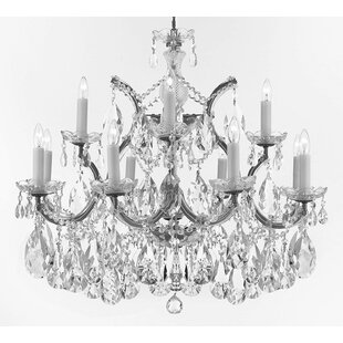 Astoria Grand Bellefonte Glam 13-Light Candle Style Chandelier