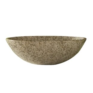 Kaco International Arlington Stone Circular Vessel Bathroom Sink