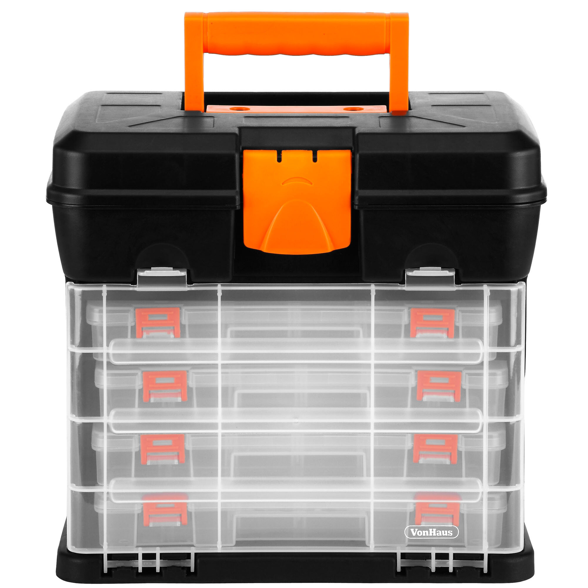 DIY & Tools Plastic Electronic Components Storage Case Box Toolbox