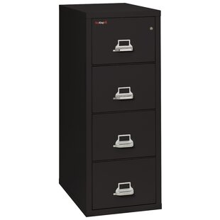FireKing Fireproof 4-Drawer Vertical File Cabinet