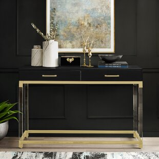 Leeann Console Table by Everly Quinn