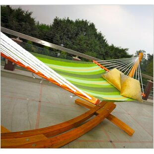 Red Barrel Studio Bargamin Striped Tree Hammock