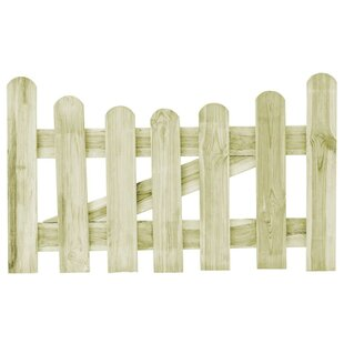 Celso Garden 3' X 2' (1m X 0.6m) Wood Gate By Sol 72 Outdoor