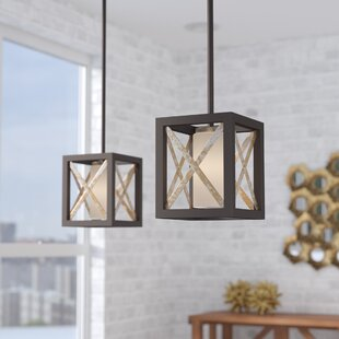 Eimear 1-Light Square/Rectangle Pendant by Willa Arlo Interiors