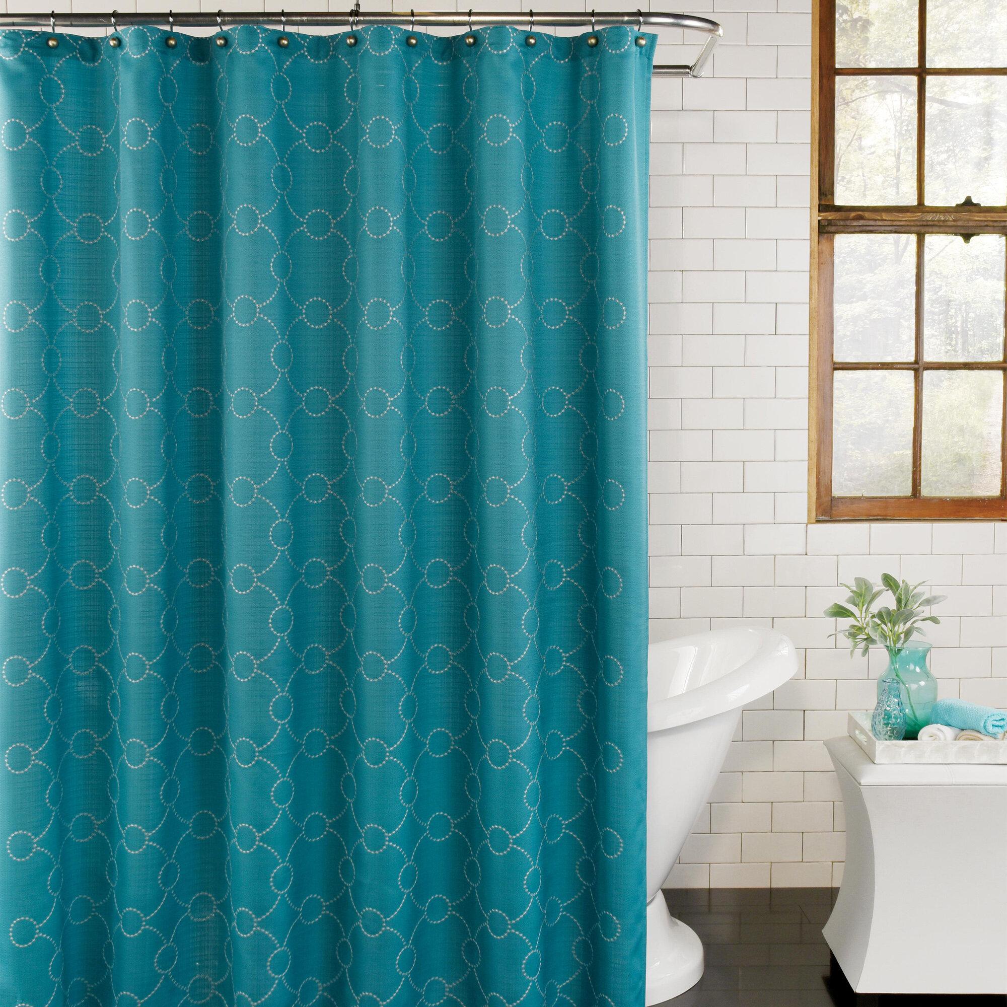 Picture of: Brayden Studio Santa Cruz Single Shower Curtain Reviews Wayfair Ca