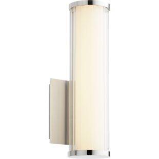Hattie 1-Light LED Armed Scone by Ebern Designs