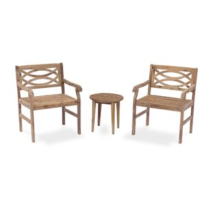 Nederland Outdoor 3 Piece Dining Set