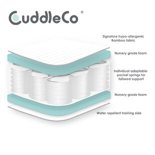 Signature Hypo Allergenic Bamboo Pocket Sprung Mattress By CuddleCo