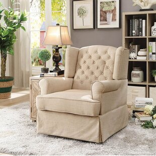 Canora Grey Waybury Swivel Glider