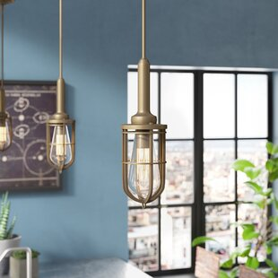 Williston Forge Abordale 1-Light Geometric Pendant