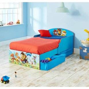 Krajewski Pat 'Patrouille 70 X 140cm Covertible Toddler Bed By Zoomie Kids
