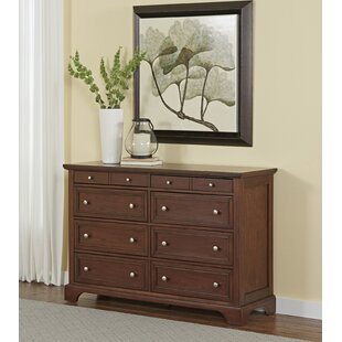 Three Posts Borden 8 Drawer Double Dresser