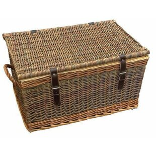 Rope Handled Cromford Wicker Picnic Basket By Brambly Cottage