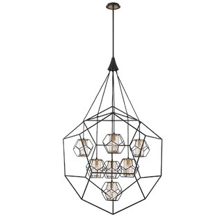 Luker Caged 7-Light Chandelier by Ivy Bronx