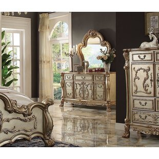 Find for Perales 7 Drawer Combo Dresser with Mirror by Astoria Grand