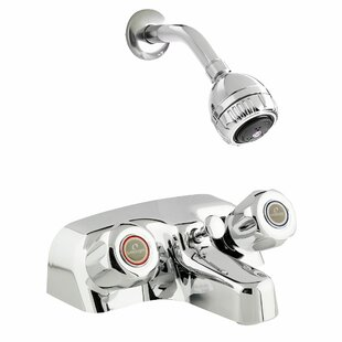 Keeney Manufacturing Company Bélanger Double Handle Tub and Shower Faucet with Knob Handles