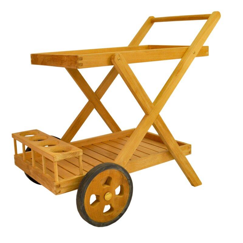 Anderson Teak Cobana Teak Bar Serving Cart