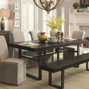 Spruance Dual-Tone Wooden Dining Table by..