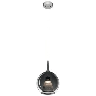 Russo 1-Light Globe Pendant by Orren Ellis