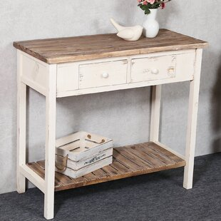Shila Vintage Console Table by August Grove