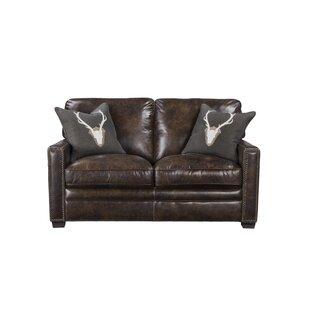 Foundry Select Andersonville Leather Loveseat