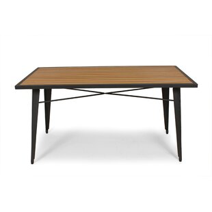 Perera Solid Wood Dining Table by dCOR design