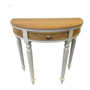 Fluted Console Table By August Grove