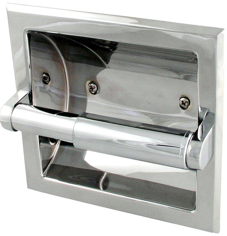 Prestige Recessed Toilet Paper Holder