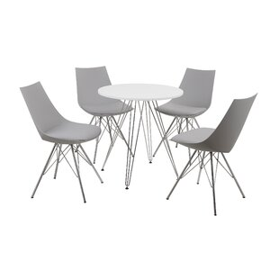 Oxnard 5 Piece Dining Set by Wade Logan No Copoun