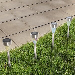 Wildlife 4-Light LED Pathway Light (Set of 3)