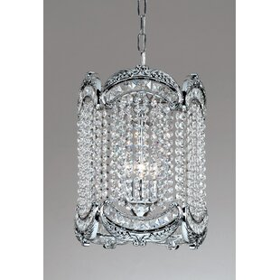 Emily 1-Light Crystal Pendant by Classic Lighting