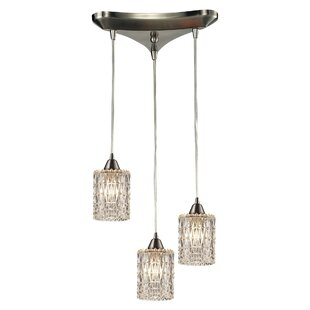 Ventnor 3-Light Pendant by House of Hampton