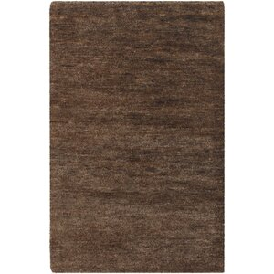 Casperson Coffee Bean Brown Area Rug