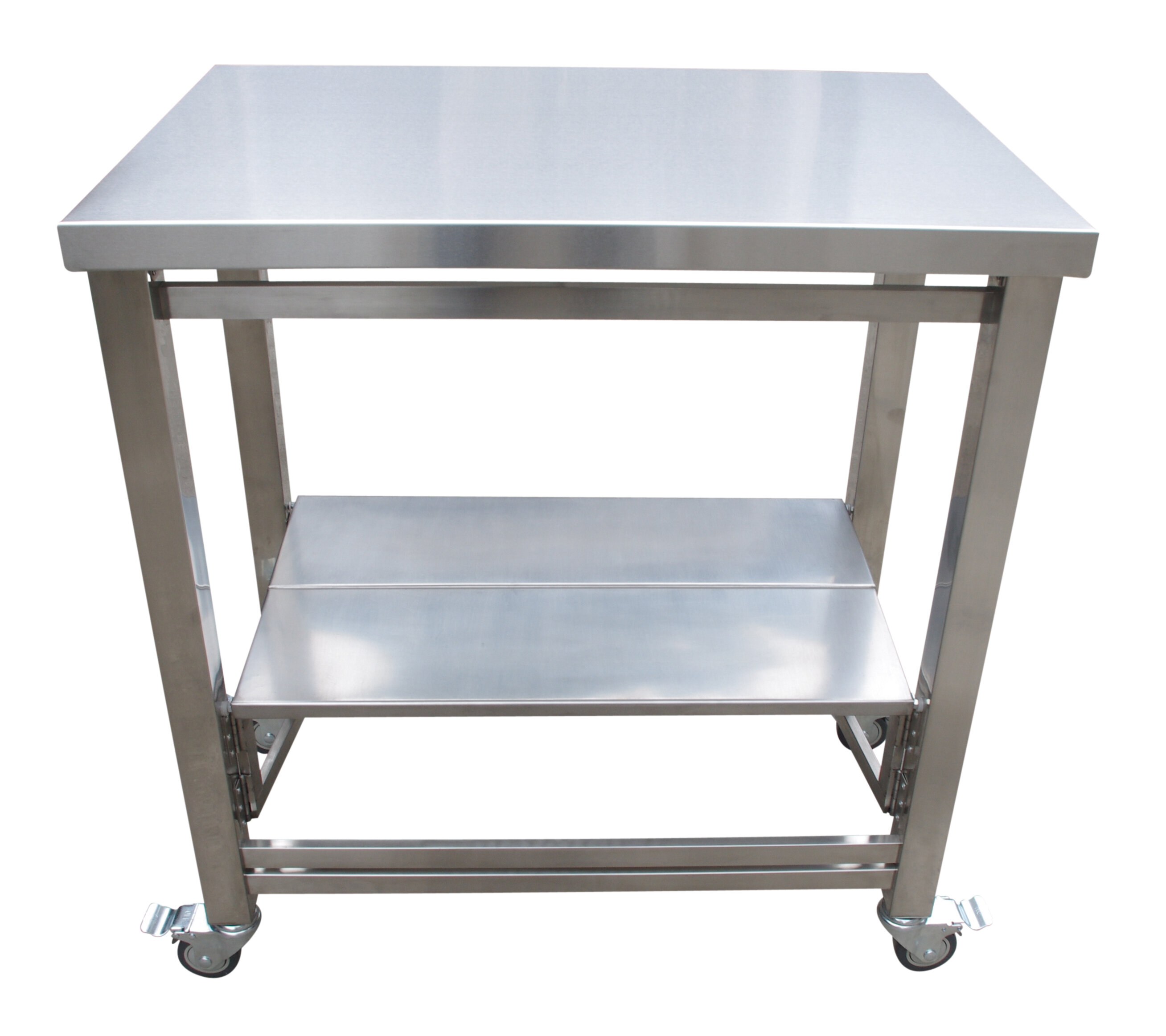 Symple Stuff The Flip and Fold Work Station Kitchen Cart | Wayfair