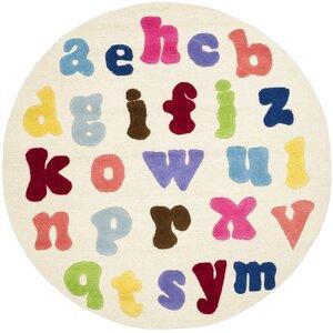 Claro Alphabet Area Rug