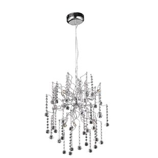Everly Quinn Verda 6-Light Sputnik Chandelier