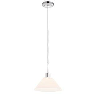 Sonneman Glass Pendants 1-Light Cone Pend..