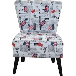 Schoenherr Flag Pattern Side Chair by Ebern Designs