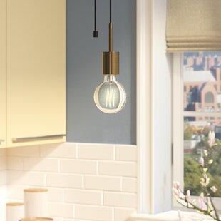 Gaillard 1-Light Bulb Pend..