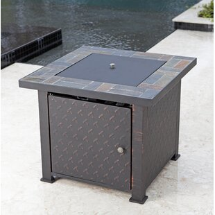 Fire Sense Penbrook Aluminum Propane Fire Pit Table