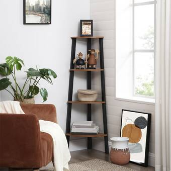 Brayden Studio Fredericksen Etagere Bookcase Wayfair