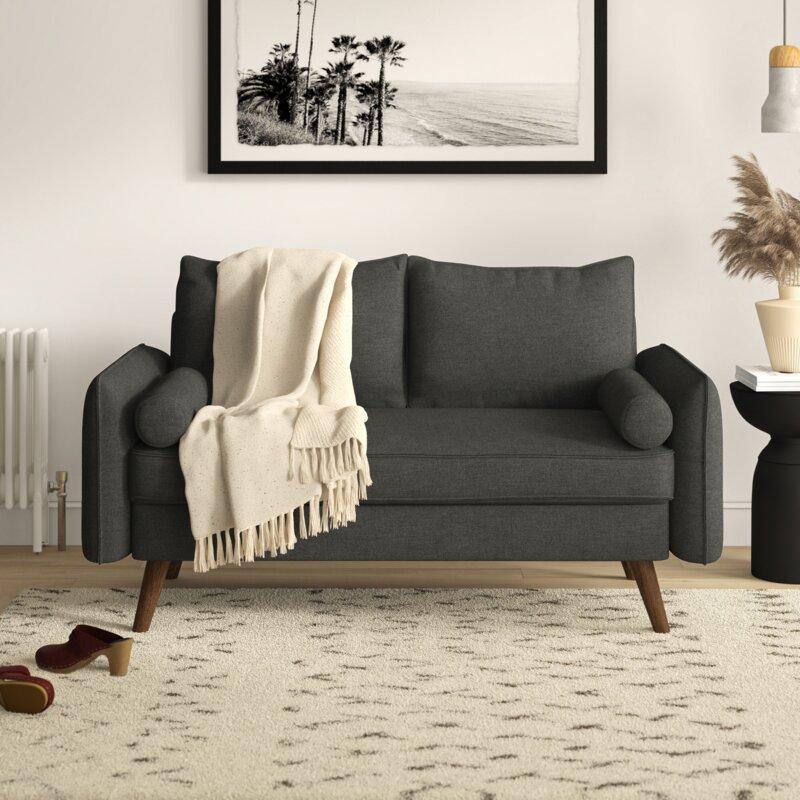 Remarkable Maggie Convertible Loveseat Inzonedesignstudio Interior Chair Design Inzonedesignstudiocom
