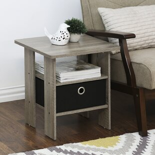 Bargain Joseph End Table with Storage (Set of 2) By Andover Mills