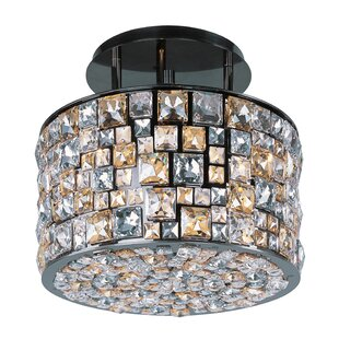 House of Hampton Mara 6-Light Semi Flush Mount
