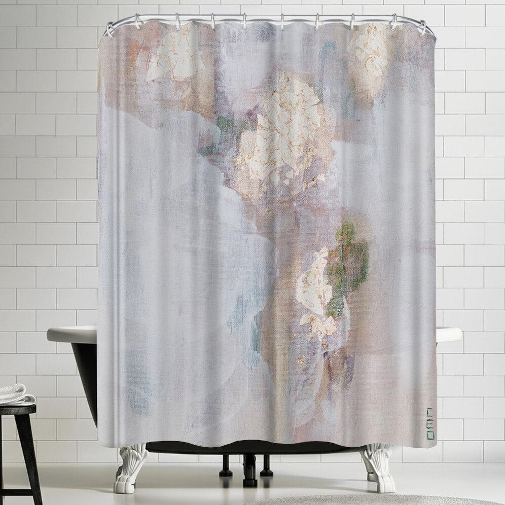 East Urban Home Christine Olmstead Focus Mini Shower Curtain