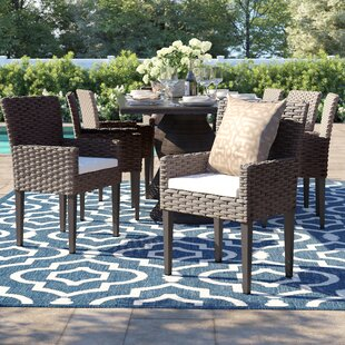Rockport Patio Dining Chair with Cushion (Set of 8)
