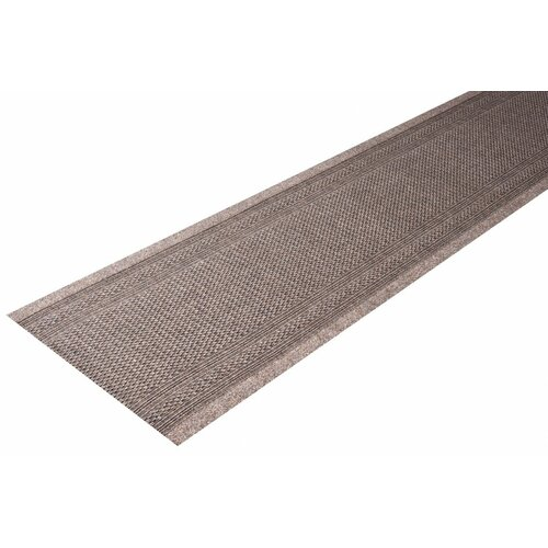 Tufted Brown Rug House of Hampton Rug size: Runner 80 x 2100