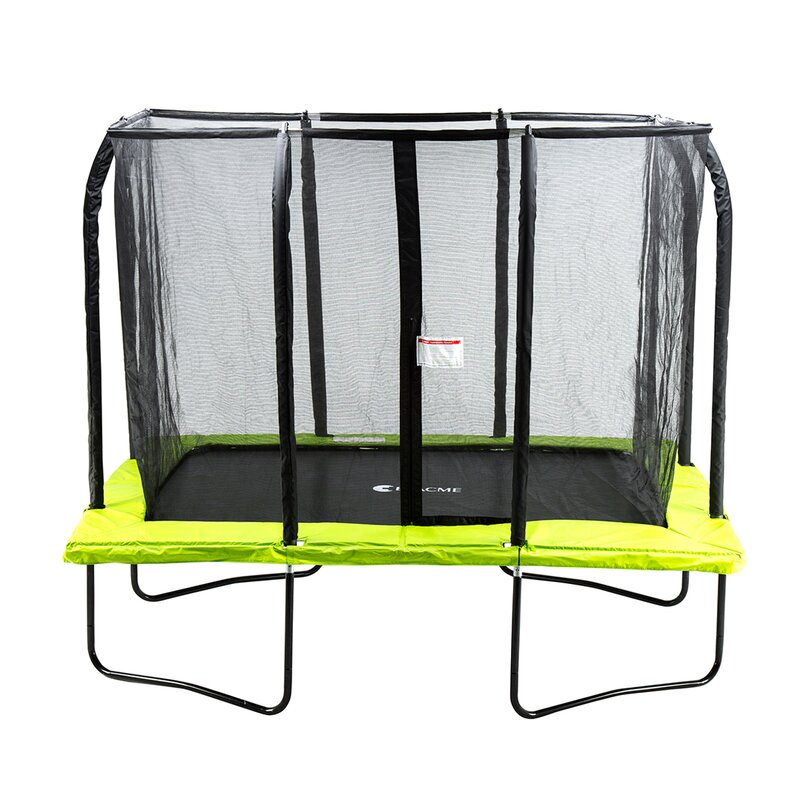 c1b182a488b07 Exacme 10  Rectangle Trampoline with Safety Enclosure   Reviews ...