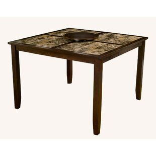 Gast Faux Marble Top Large Pub Table by Red Barrel Studio Cheap